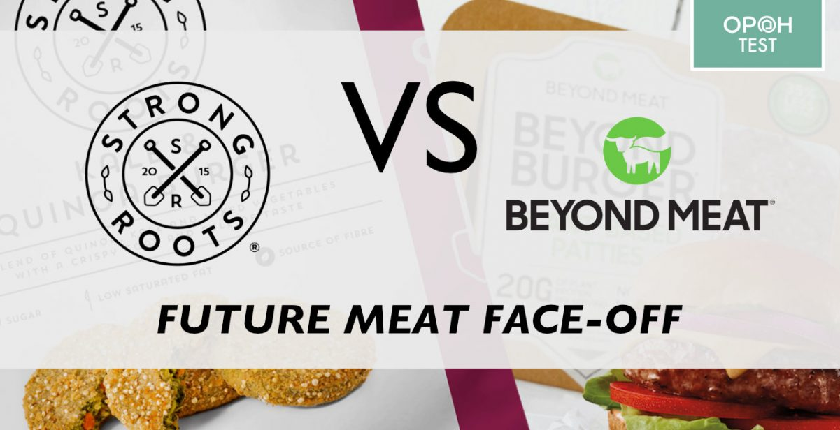 Beyond Meat vs Strong Roots