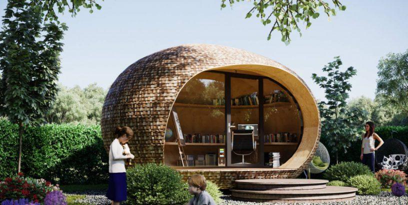 A PassivePod garden office