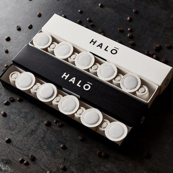 Halo Coffee compostable pods