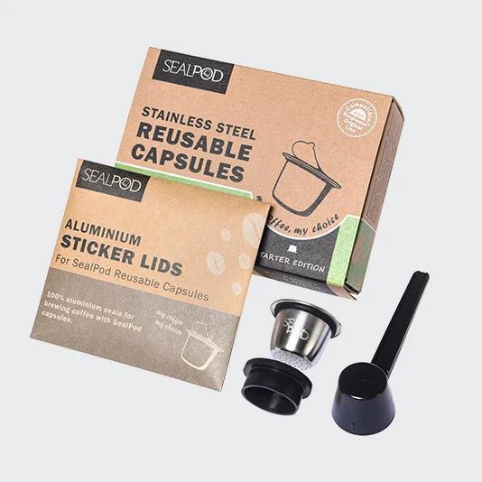 SealPod Nespresso reusable coffee pod starter pack