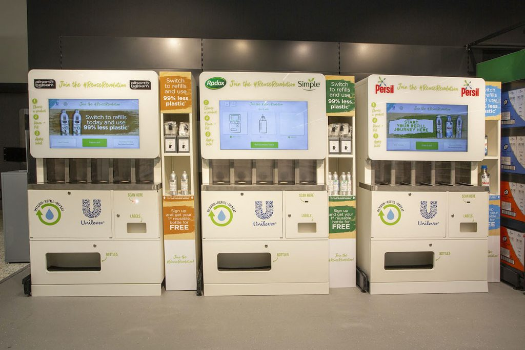 Refill stations