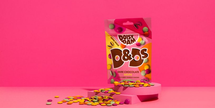 Bag of chocolate buttons